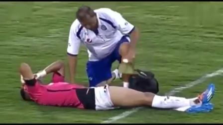 史上最丧失体育道德进球!受伤门将已控制球权