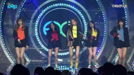 EXID《比起白天在夜里》音乐中心舞台现场直拍版