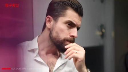 男人40岁别再两侧铲短了,这款发型,帅,绅士,有型