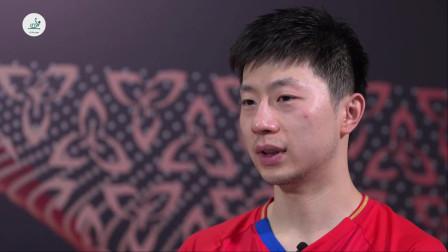 国际乒联采访乒乓球历史第一人 马龙 我累的时候这些荣誉是我的动力