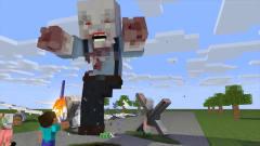 我的世界动画-怪物学院 vs 丧尸大军-MAXIM