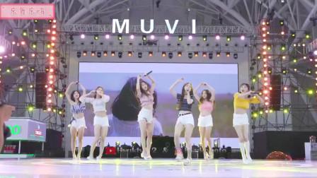 韩国女团*a*a在中国的现场表演,美女们穿的鞋跟