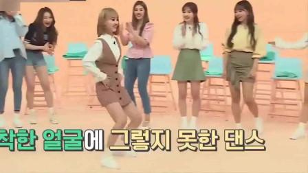 【搞笑】日本美女团员一跳舞就变成社会摇(韩国