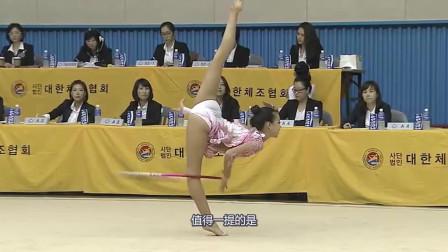 韩国体操第一美女,曾示爱宁泽涛被拒,如今退