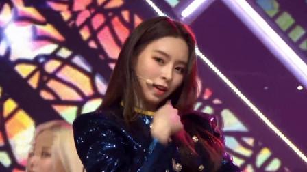 女团CLC回归新舞台,实力开麦,猫猫日常美腿撩人