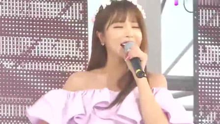 韩国女歌手洪真英,歌曲好听,舞蹈有节奏
