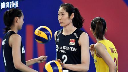 中国女排0-3美国止步9连胜,2胜1负江门站夺冠