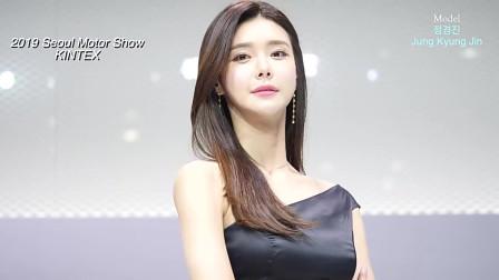 韩国可爱美女车模,一双纤手皓肤如玉,透明一
