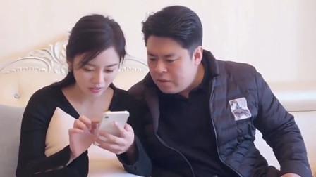 搞笑祝晓晗:爸爸和祝晓晗点外卖,连5块钱的配