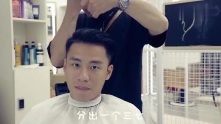 长发男生换发型, 广漂理发师给他剪了一款有故事的发型