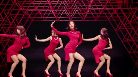 韩国美女都一个样,美女组合集体热舞,我已经