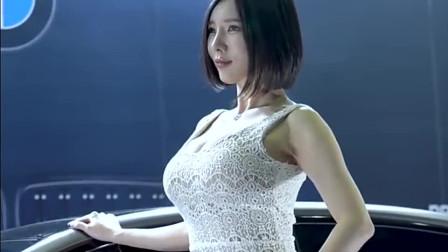 韩国时尚美女,锁骨估计可以养鱼了!