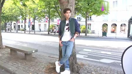 街拍:李易峰巴黎时装周街拍,有颜值就是不一样,随便一摆都帅!