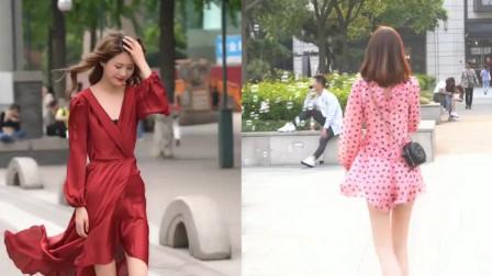 杭州街拍:别以为打扮的可爱迷人,就可以哄抬价格!