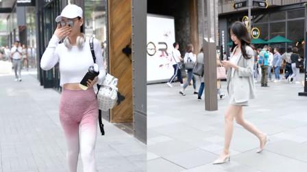 杭州街拍:健身小姐姐的蜜桃臀了解一下?