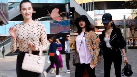 街拍:新疆小姐姐的身材真丰满,这要是我女朋友,估计做梦都会笑醒了!