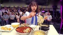 """韩国美女表演吃鸡爪,""""嗦""""一口下去,就剩骨"""