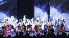 世界之窗音乐晚会现场:大型藏族舞蹈精彩登场