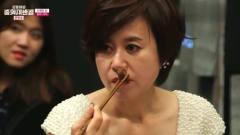 美女中厨现场做的避风塘羊肉,韩国人吃一口就