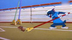 猫和老鼠:汤姆不敌杰瑞,疯狂被整,脑子不够