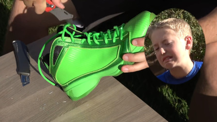 被N*A禁止使用的球鞋,一双一万四还有价无市,老外切开探寻秘密