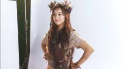 日韩时尚美女写真,小姐姐的部落风格装扮,充