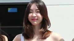 韩国时尚美女车模,容貌清纯唯美小姐姐,一个