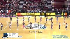 韩国篮球场出现小学生美女啦啦队 大家觉得小学
