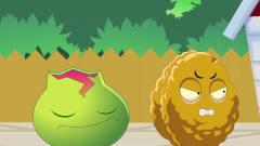 植物大战僵尸: 打车-游戏搞笑动画-打车-植物大战