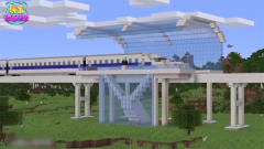 我的世界〈恶搞〉新型高铁列车 咻咻咻!