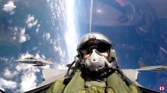 """科技与军事:法国海军训练视频片断""""阵风""""("""