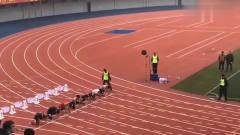 体育生考试,我看了5遍,第一名速度厉害!