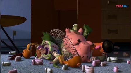 玩具总动员:胡迪的小伙伴终于找到了他,是不是皆大欢喜了!