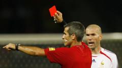 人红是非多!足坛十大被主裁判红牌罚下顶级球
