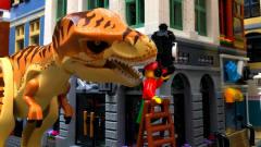 乐高恐龙城市攻击 乐高恐龙卡通 乐高侏罗纪世界