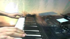 北国之春 电子琴弹奏音乐视频20190707