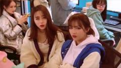 搞笑钟婷:钟婷和紫然迟到了,老板用这样的套