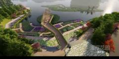 绿博园新进展!看音乐喷泉、游客服务中心建成