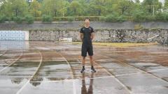 田径运动说,折返跑的动作要领,学体育的注意