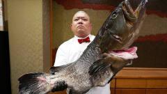 日本喜欢吃生鱼片,却在活鱼身上直接下刀!厨