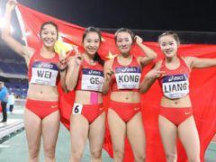 中國4位女飛人閃耀世界!離冠軍僅差0.17秒,創亞