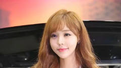 可爱迷人的韩国女车模,性感美丽,让人喜欢!