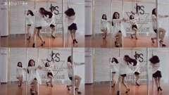 江南 零基础小姐姐们的第一支钢管舞哦! 棒棒哒