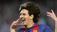 天赋异禀,过人如麻!梅西17年前踢球的珍贵视频