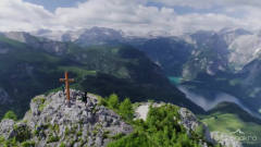 4K超高清视频可下载 欧洲阿尔卑斯山 大自然风景