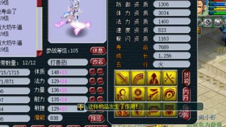 梦幻西游:14技能画魂打特殊兽决善恶有报,老王