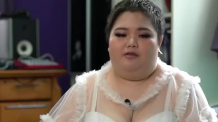她500斤却拥有天使面孔,一双美腿让女人嫉妒羡