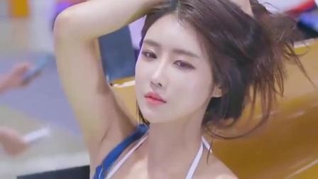 韩国美女车模,长得真是太美了!