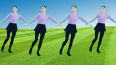 动感健身广场舞《香吉士》新颖的步伐好听的音