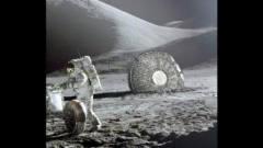 月球飞出来的UFO舰群